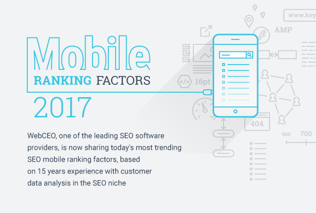 Mobile SEO Ranking Factors 2017 [Infographic] (preview)