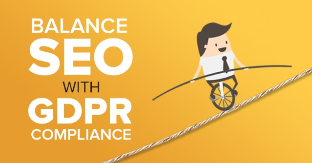 Don't make any SEO mistakes while dealing with GDPR.