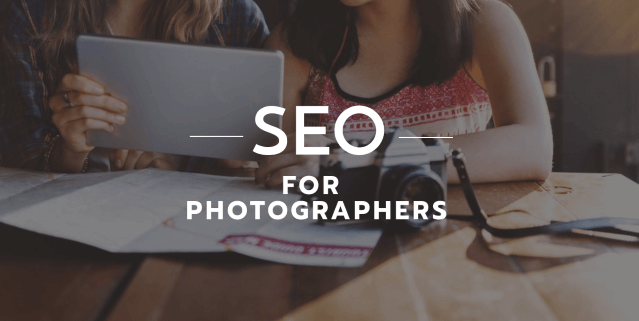 SEO for photographer websites