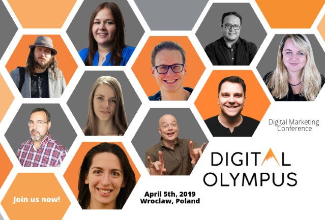 Join the digital marketing conference in Poland on April 5, 2019!