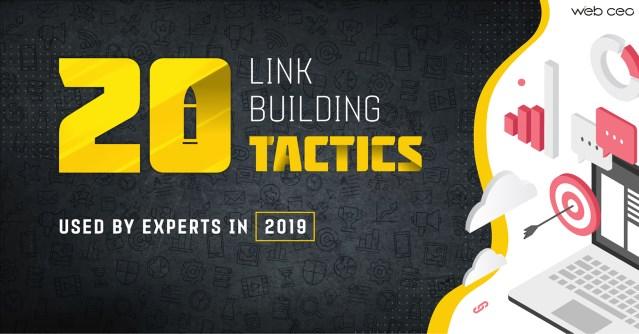 20 expert link building tactics