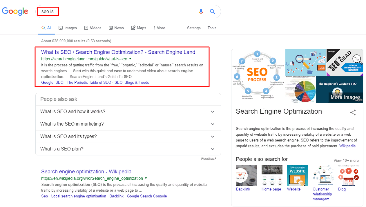 google-serp-results-for-seo-is