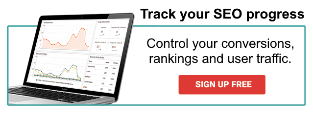 Sign up free to begin improving your conversions with SEO tools.
