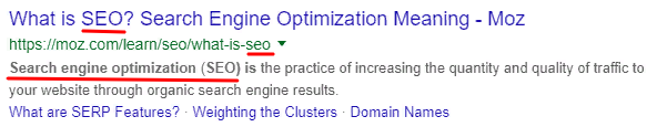snippet-optimization