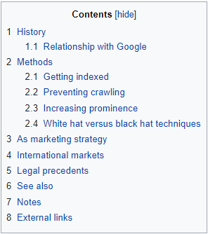 wikipedia-table-of-contents