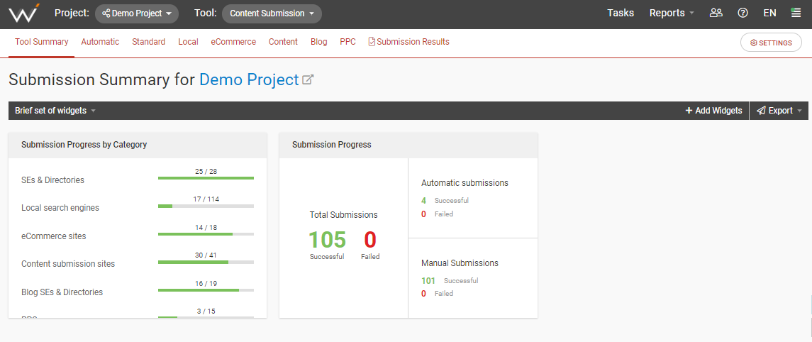 webceo-content-submission-tool