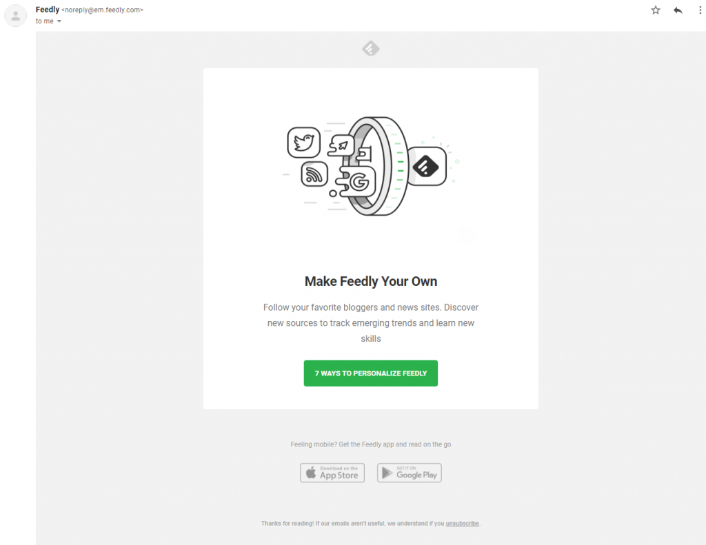 newsletter-from-feedly