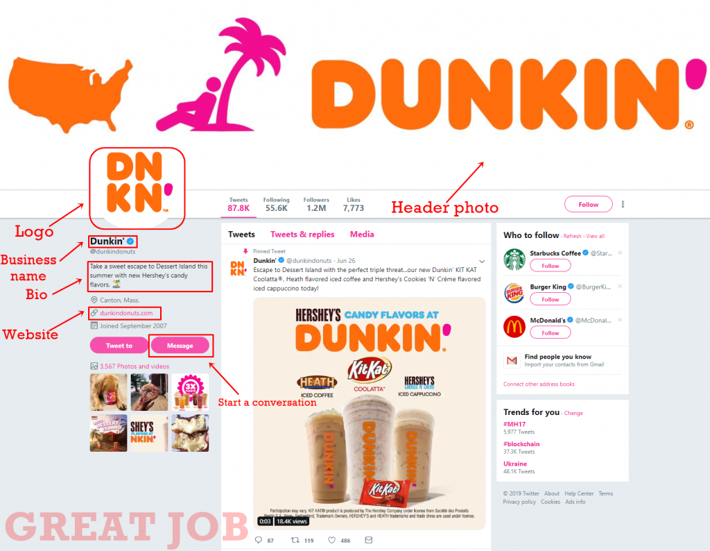 step-3-dunkin-donuts-twitter