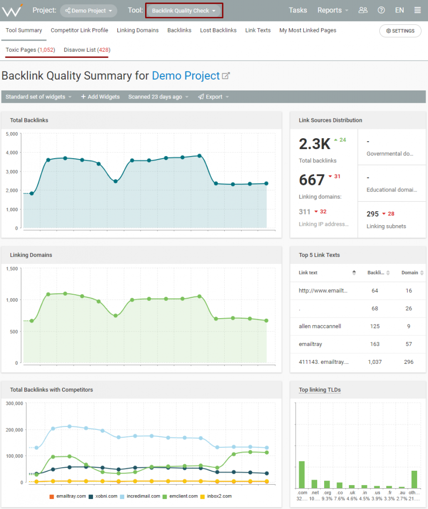 step-2-webceo-backlink-quality-check