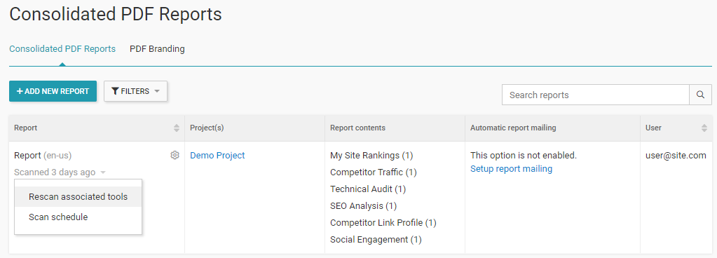 Generate your SEO report.