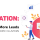 How to generate more leads with the topic cluster method