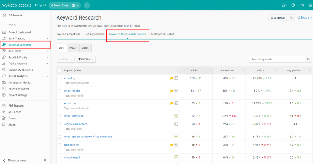 The-WebCEO-Keyword-Research-Tool-Keywords-from-Search-Console