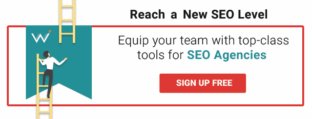 Sign up to start using agency-level SEO tools