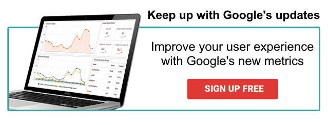 Sign up to check Google's Core Web Vitals on your site!