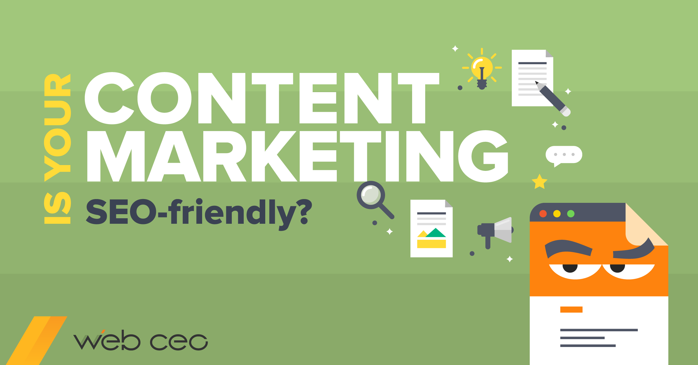 How to make your content marketing SEO friendly